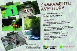 Campamento aventura